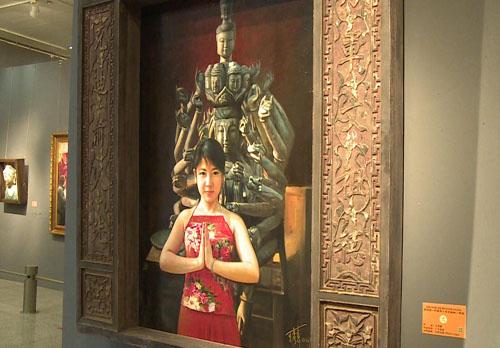 黄河情.丝路韵—王秀章油画展在兰展出