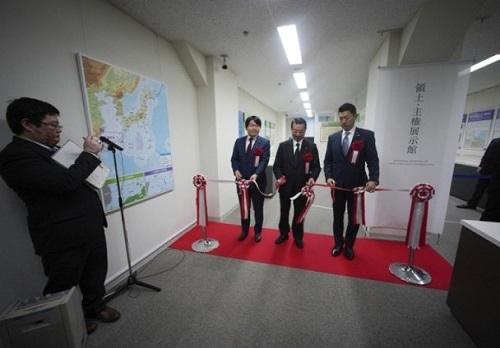 日本嘴上说着要和中国友好,却又公开设领土展览馆展示钓鱼岛!