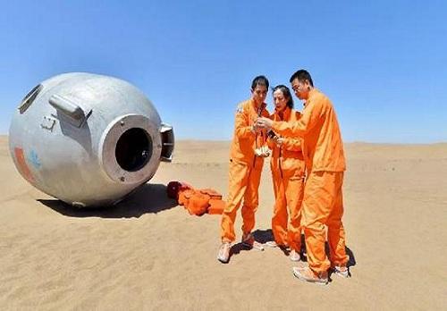 """现实版""""绝地求生""""!我国航天员首次进行沙漠野外生存训练"""
