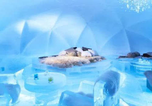 全球最冷酒店,瑞典零下37度的冰酒店让你感受北极圈的魅力
