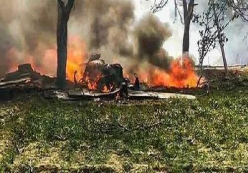"""印度空军新的一年再次开启坠机模式,网友吐槽:""""飞行棺材""""!"""