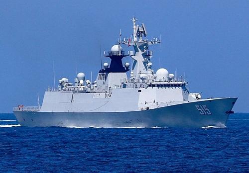 054A型护卫舰,冷战后全球建造数量最多的一型护卫舰!