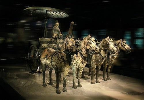 太奢华!古代贵族陪葬的车马仪仗队竟然这么庞大