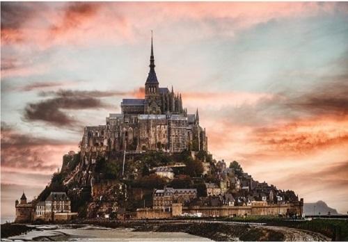 法国印象 圣米歇尔山 带你看尽法国的潮起潮落