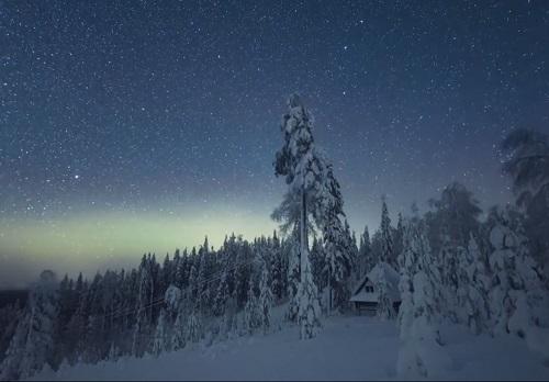 走,芬兰有圣诞老人的陪伴