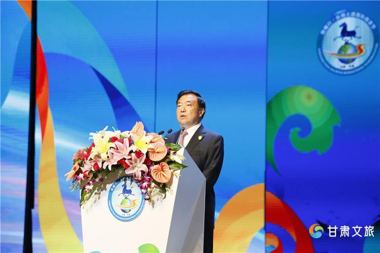 第六届敦煌行-丝绸之路国际旅游节开幕 各国嘉宾助推甘肃旅游